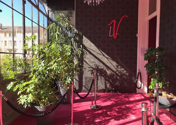 Photo hall d'entrée la Verrière espace danse