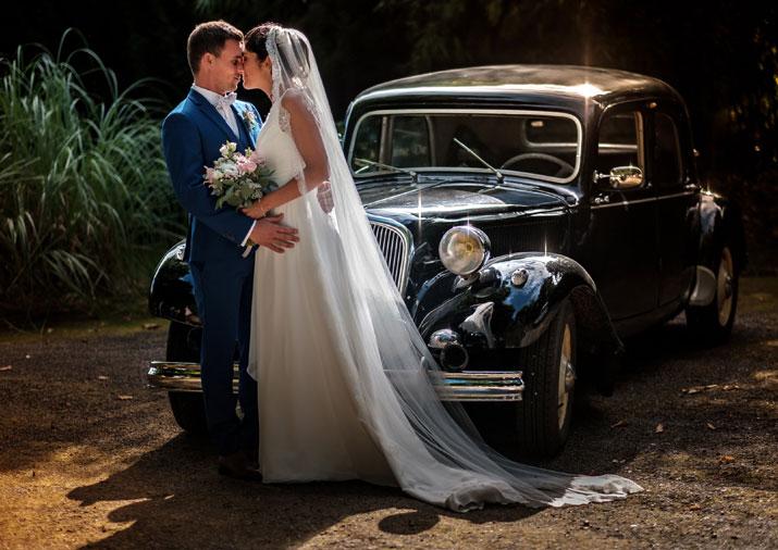 photo d'un couple marié à la Verrière évènement mariage