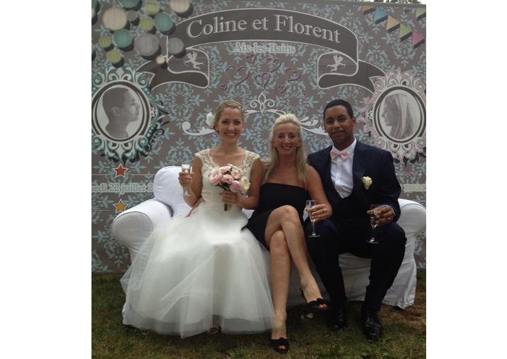 photo sylvaine mariage à la verrière