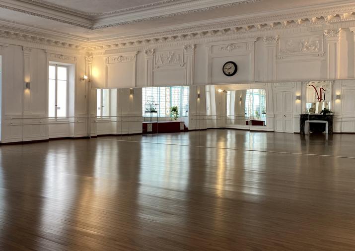 photo de la salle de cours à la Verrière